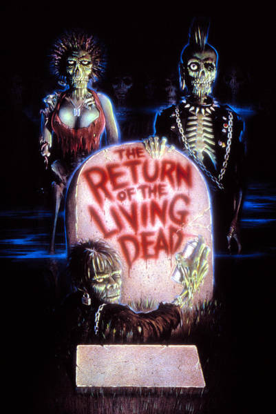 The Undead Photograph - Return Of The Living Dead, Poster Art by Everett
