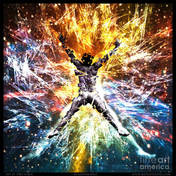 Mixed Media - Returning Back by Tony Koehl