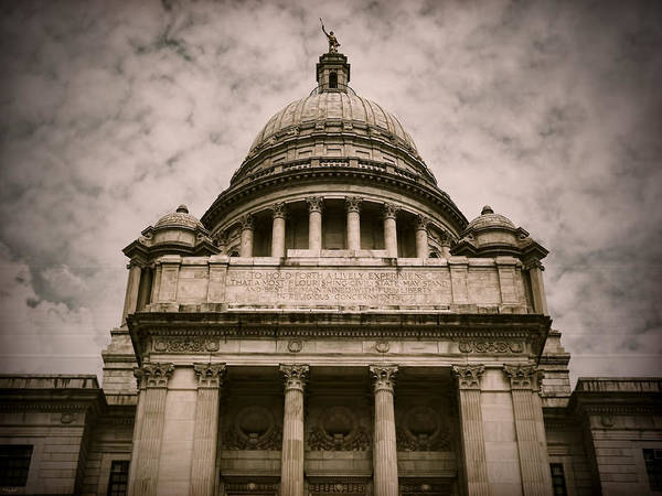 Photograph - Rhode Island Capitol by Lourry Legarde
