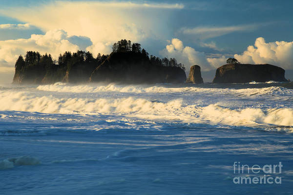 Photograph - Rialto Beach At Olympic National Park by Adam Jewell