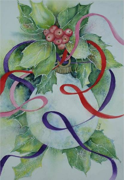 Painting - Ribbons Of Hope by Pamela Lee