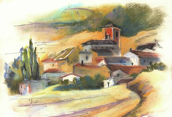Ribera Del Duero Painting - Ribera Del Duero In Spain 04 by Miki De Goodaboom