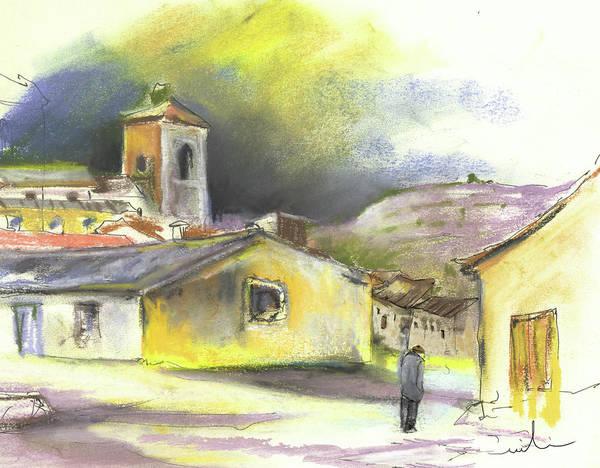 Ribera Del Duero Painting - Ribera Del Duero In Spain 05 by Miki De Goodaboom