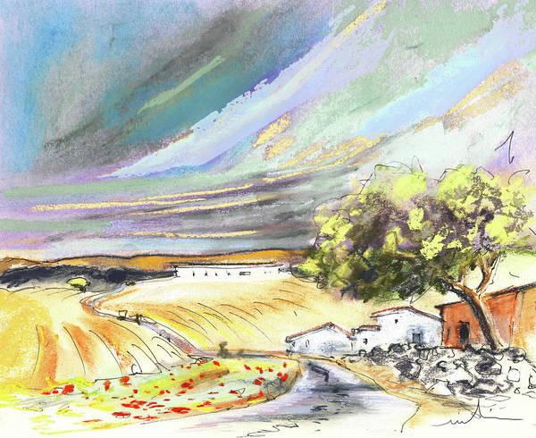 Ribera Del Duero Painting - Ribera Del Duero In Spain 13 by Miki De Goodaboom