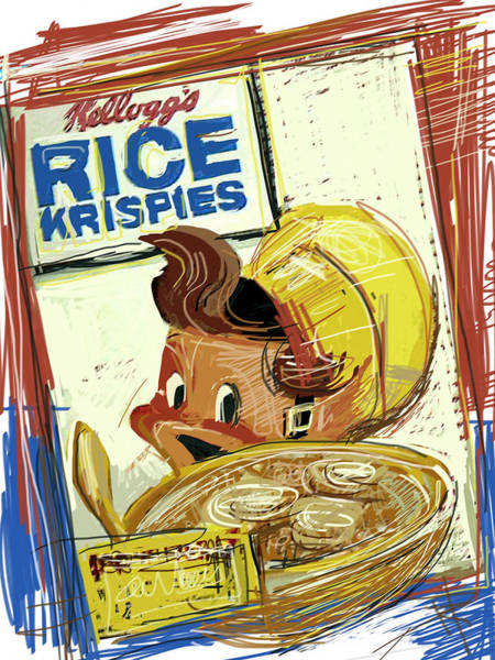 Banana Mixed Media - Rice Krispies by Russell Pierce