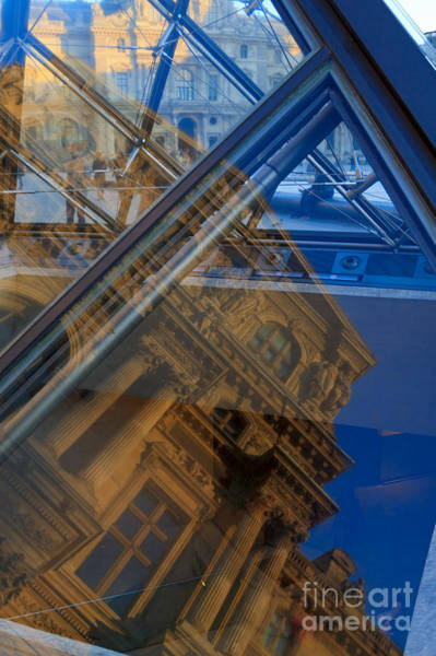 Cours Photograph - Richelieu Wing Of The Louvre by Louise Heusinkveld