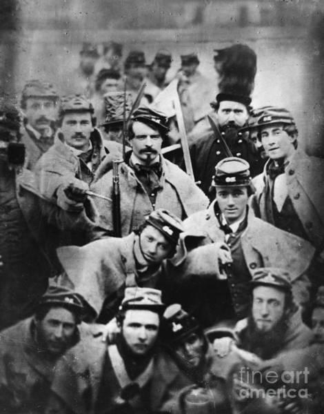 Militiaman Photograph - Richmond Grays, John Browns Execution by Omikron