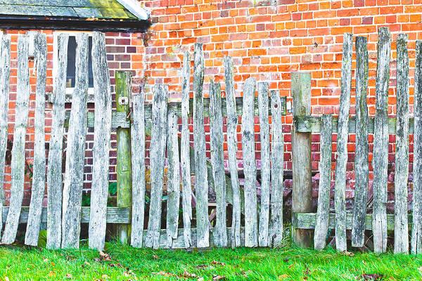 Boundaries Wall Art - Photograph - Rickety Fence by Tom Gowanlock