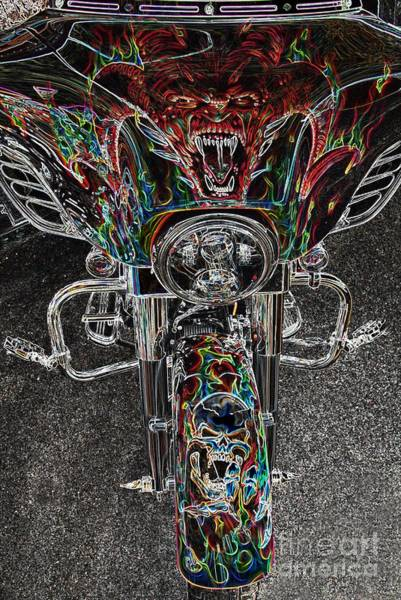 Photograph - Ride Like The Devil by Anthony Wilkening
