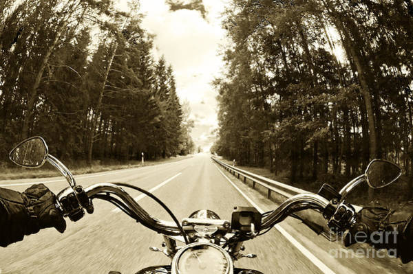 Wall Art - Photograph - Riders Eye Veiw In Sepia by Micah May