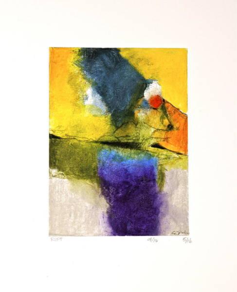 Painting - Rift    --start-  5-16 by Cliff Spohn