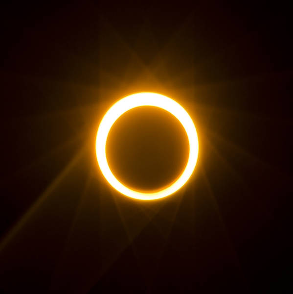 Photograph - Ring Of Fire by Loree Johnson