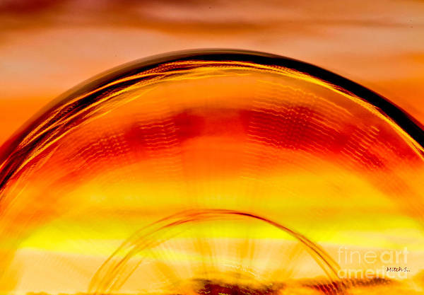 Fire Ring Photograph - Ring Of Fire by Mitch Shindelbower