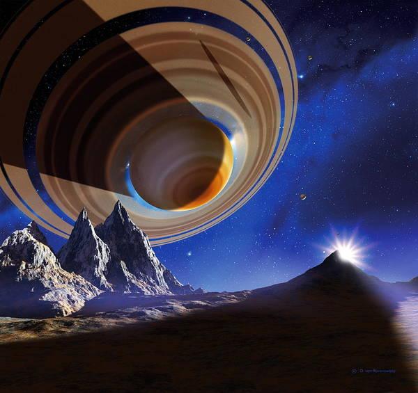 Wall Art - Photograph - Ringed Planet by Detlev Van Ravenswaay