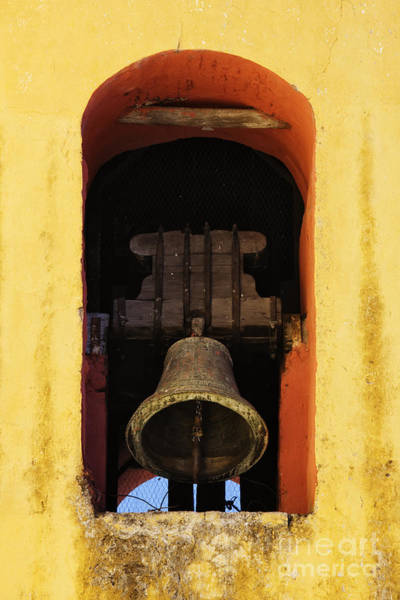 Rungs Wall Art - Photograph - Ringing Church Bell by Jeremy Woodhouse