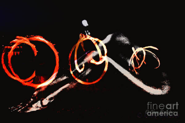 Photograph - Burning Rings Of Fire by Clayton Bruster
