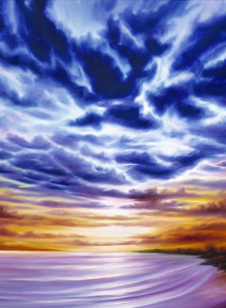 Painting - Rise by James Christopher Hill