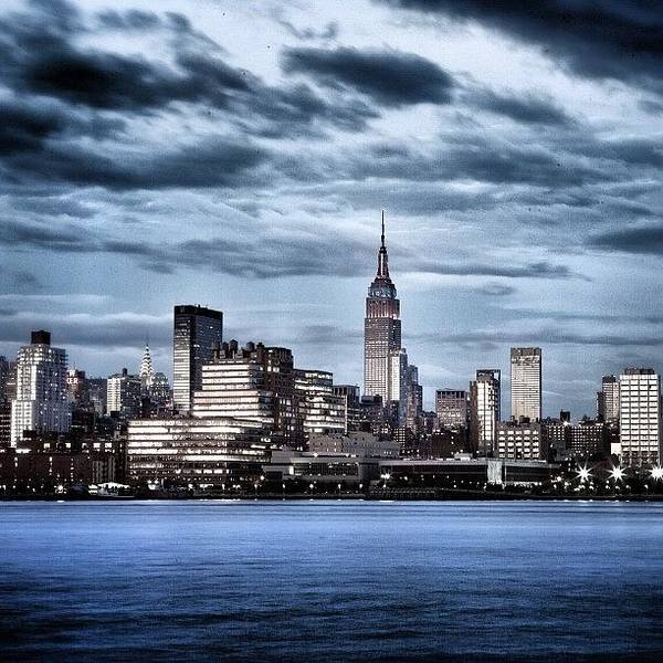 Gotham Wall Art - Photograph - Rise Of Gotham #iphonography by Justin DeRoche