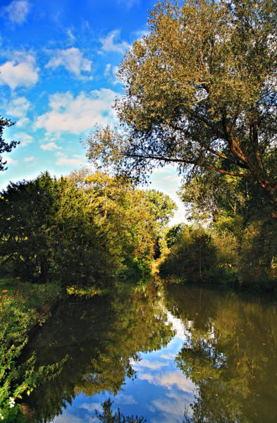 Photograph - River Cherwell At Oxford by Paul Cowan