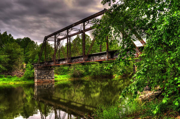 Trestle Photograph - River Crossing by Greg and Chrystal Mimbs