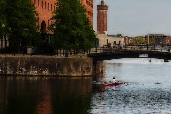 Photograph - River Gliding by Edward Peterson