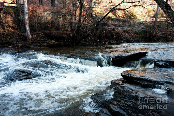 Photograph - River Mill 2 by Michael Waters
