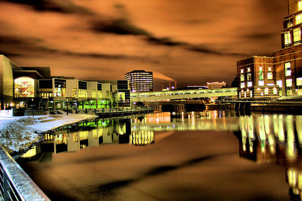 Wall Art - Photograph - River Of Glass by Matthew Winn