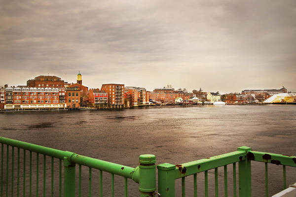 Photograph - Riverside On The Piscataqua River by Robert Clifford
