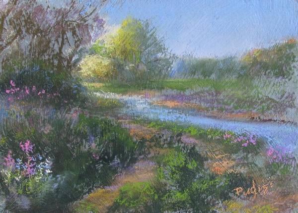 Pastel - Riverwalk by Bill Puglisi