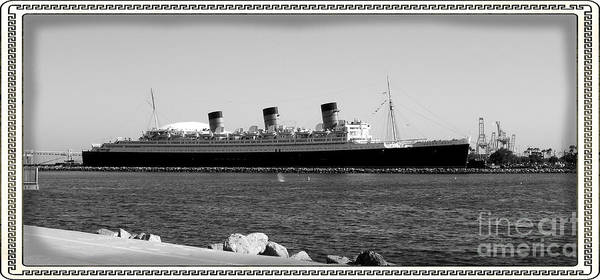 Clydebank Photograph - Rms Queen Mary by RJ Aguilar
