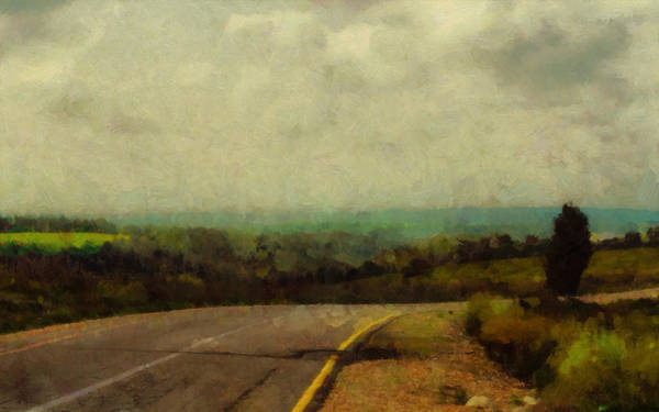 Photograph - Road In A Field by Michael Goyberg