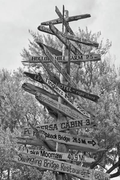 Road Map Photograph - Road Map by Betsy Knapp