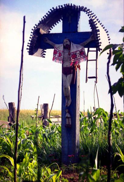 Photograph - Roadside Crucifix IIi by Emanuel Tanjala