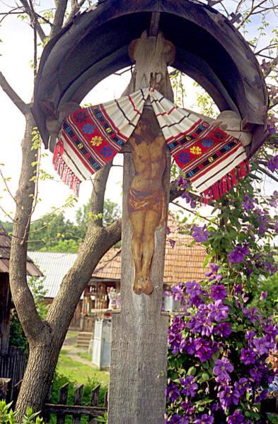 Photograph - Roadside Crucifix V by Emanuel Tanjala
