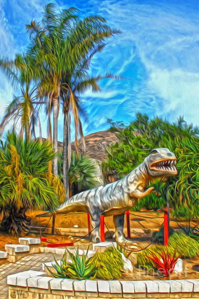 Painting - Roadside Raptor by Gregory Dyer
