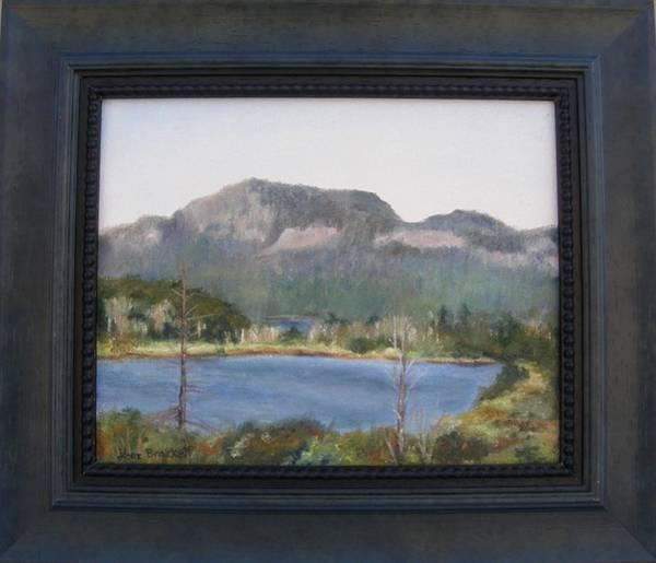Painting - Roadside View Framed by Lori Brackett