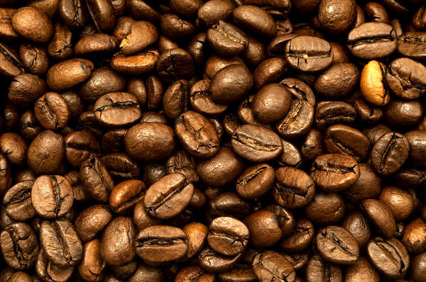Photograph - Roasted Coffee Beans by Fabrizio Troiani