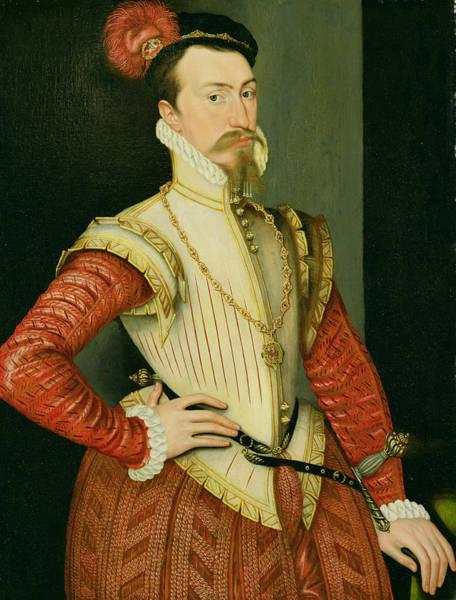 Wall Art - Painting - Robert Dudley - 1st Earl Of Leicester by Steven van der Meulen