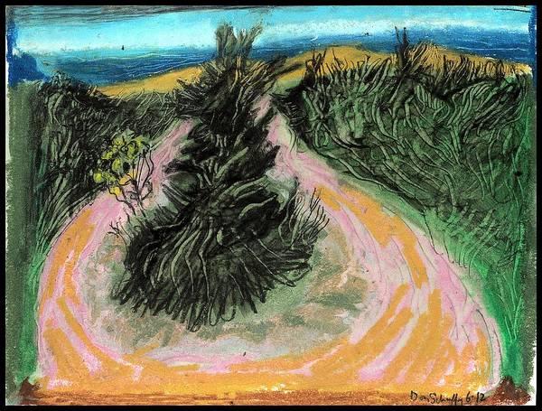South Beach Drawing - Robert Moses Park by Don Schaeffer
