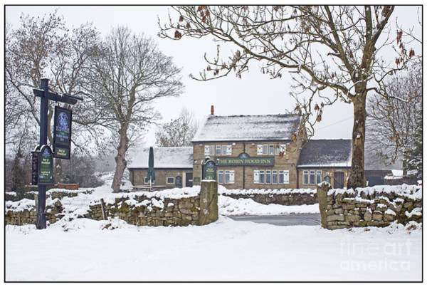 Photograph - Robin Hood Inn At Baslow by David Birchall