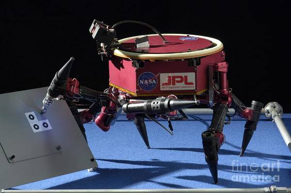 Photograph - Robot Lemur IIa by Nasa