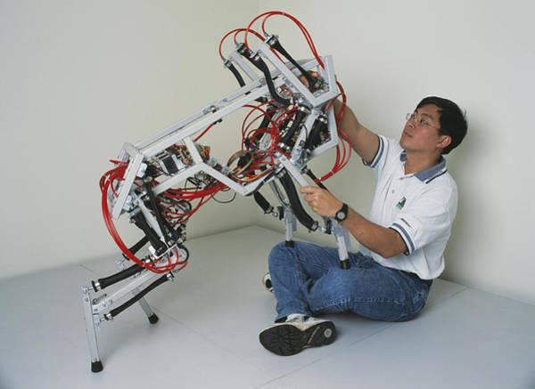 Biomimetics Wall Art - Photograph - Robotic Dog by Volker Steger