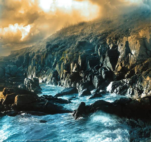 Galicia Photograph - Roca De Percebes by Alfonso Garcia