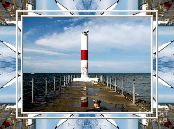 Photograph - Rochester New York Harbor Lighthouse by Rose Santuci-Sofranko