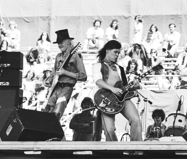 Photograph - Rock And Roll At Day On The Green 1975 by Ben Upham