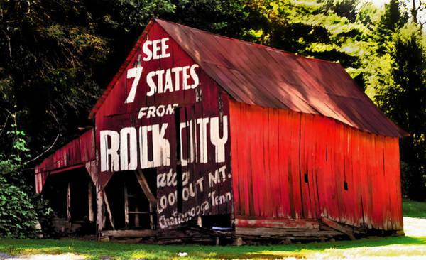 Wall Art - Photograph - Rock City by David A Brown
