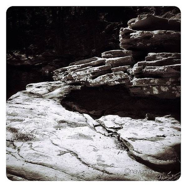 Monochrome Wall Art - Photograph - Rock Formations by Natasha Marco