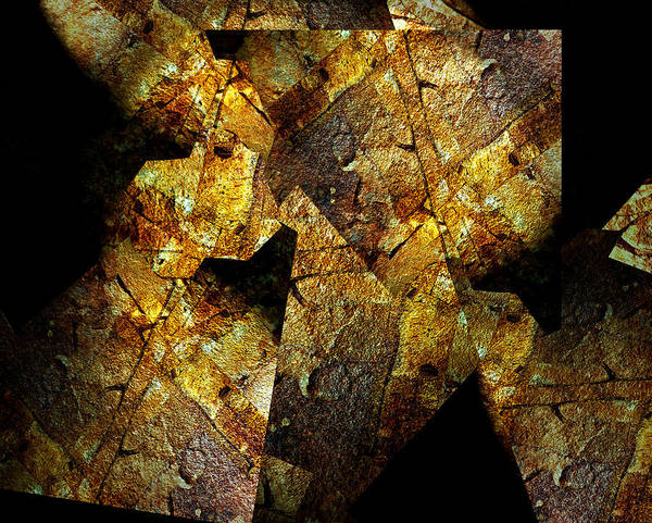 Digital Art - Rock Painting 5  by Lynda Lehmann