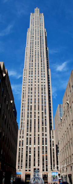 Photograph - Rockefeller Center New York City by Mark Dodd
