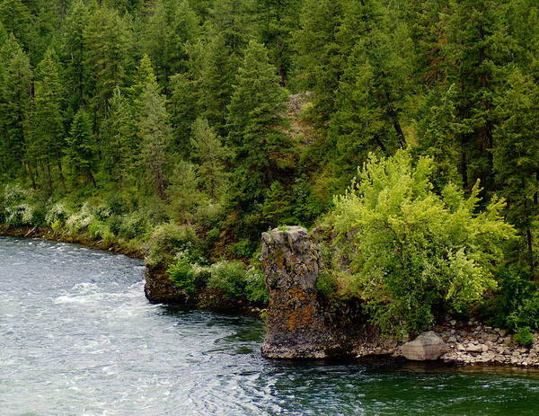 Rockin The Spokane River Art Print